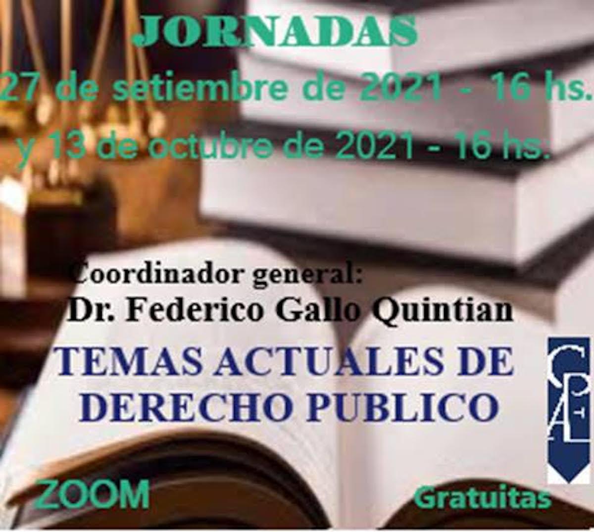 JOrnadas de Derecho Público
